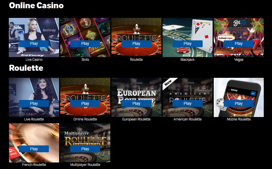 betway-casino-top-games