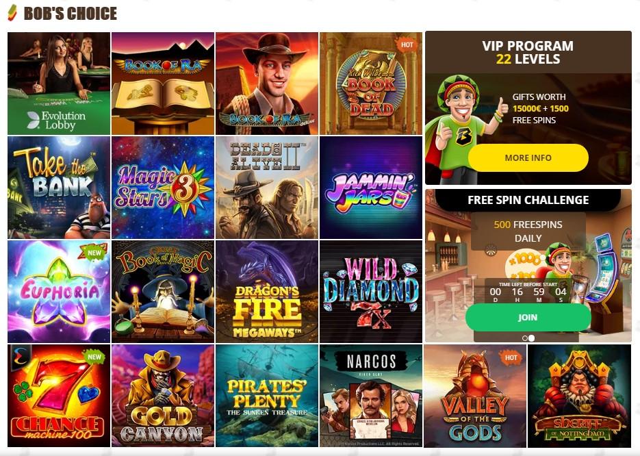 bob-casino-top-games