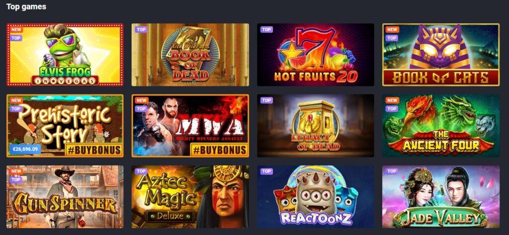 joocasino-top-games